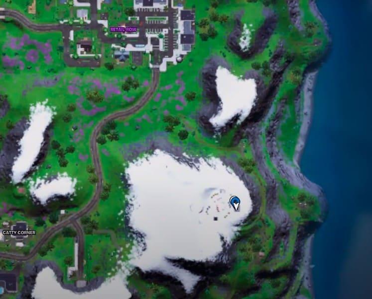 Fortnite Сезон 7 Неделя 6 Локации инопланетных артефактов