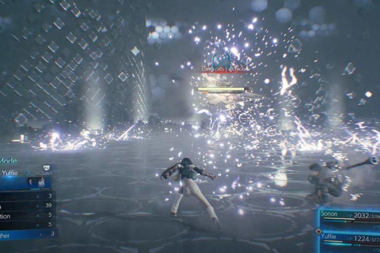 Final Fantasy 7 Remake Intergrade Ramuh Boss