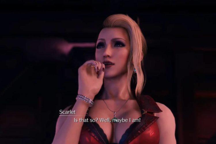 Final Fantasy 7 Remake Intergrade Scarlet Boss