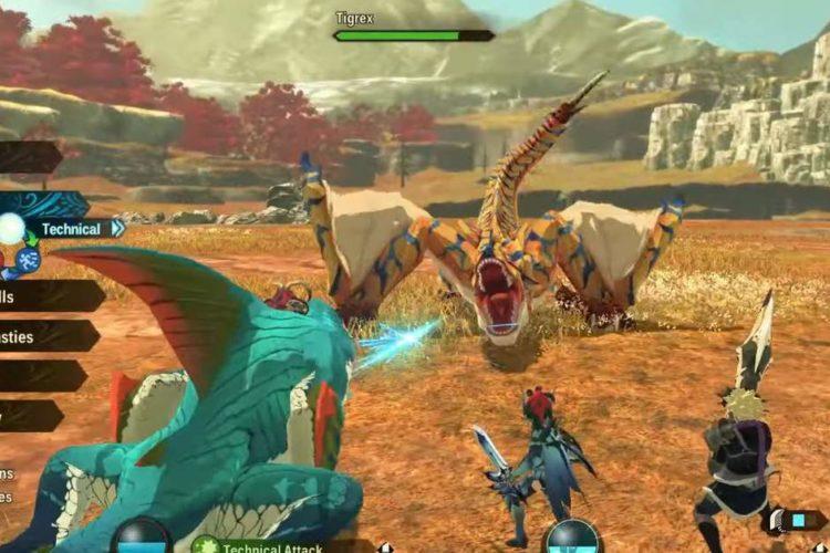 How to Get Tigrex in Monster Hunter Stories 2