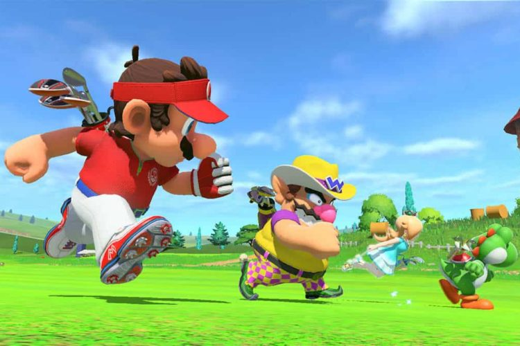 Mario Golf Super Rush outfits