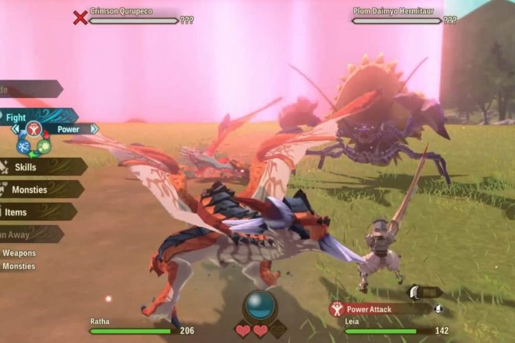 Monster Hunter Stories 2 Qurupeco