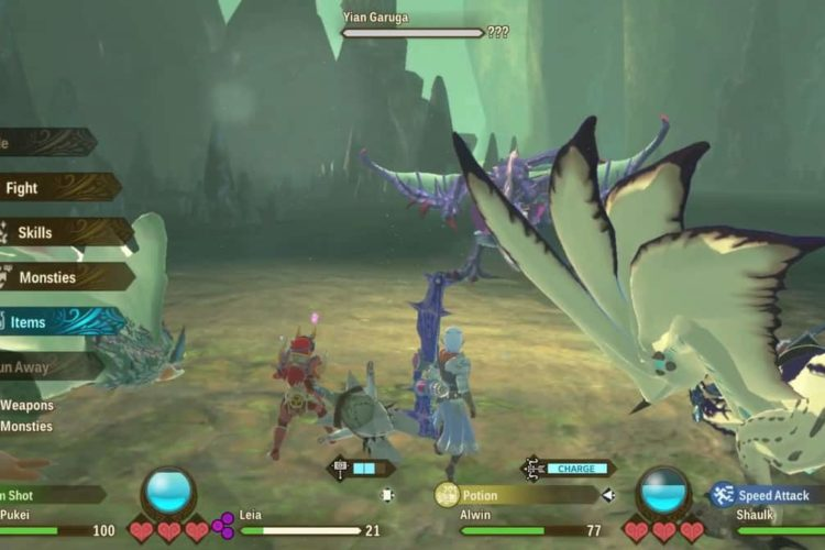 How to Defeat Yian Garuga in Monster Hunter Stories 2
