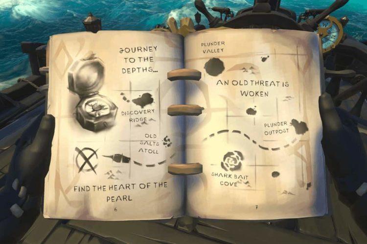 Sea of Thieves Sunken Pearl Journal Locations