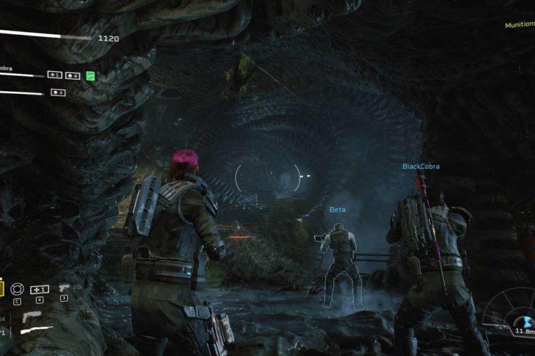 Aliens Fireteam Elite Demolisher