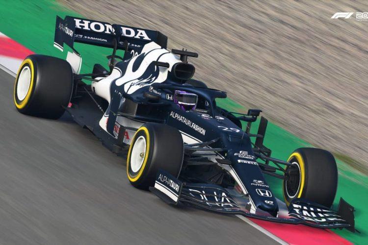 F1 2021 USA Best Setup
