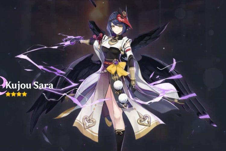 Genshin Impact Kujou Sara