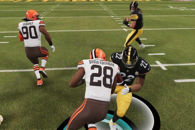 Madden NFL 22 Passing