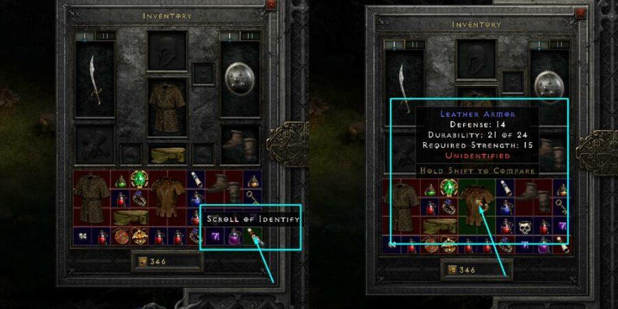 Определение предмета в Diablo 2