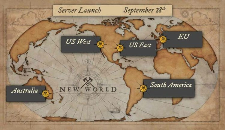 new world servers
