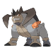 Терракион в Pokemon.