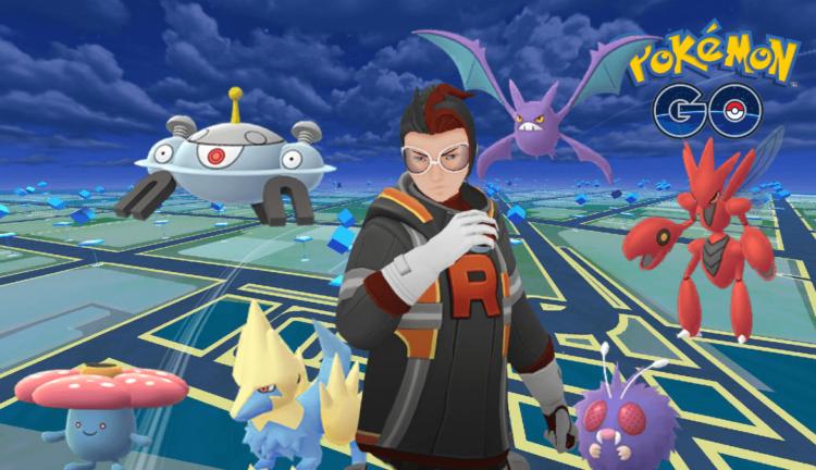 Arlo and his Pokemon in Pokemon Go.