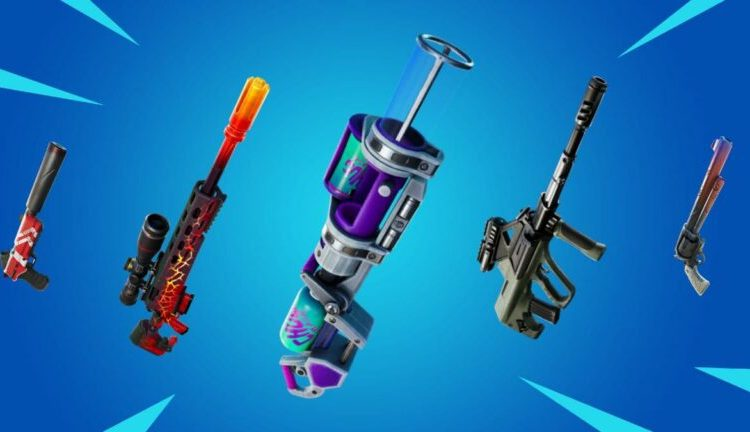 All the exotic weapons in Fortnite Chapter 2 SEason 8