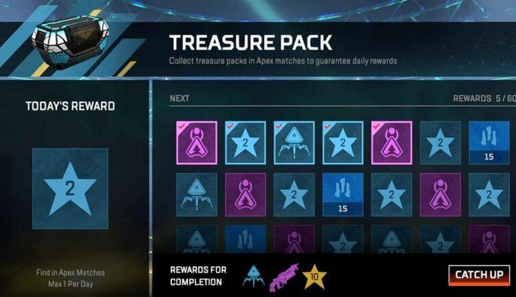 Treasure Pack in Apex Legends
