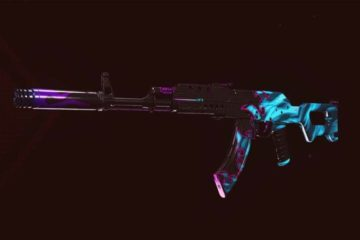 ak-47 assault rifle in call of duty
