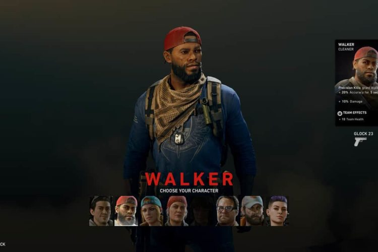 How to Play as Walker in Back 4 Blood