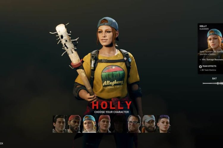 How to Play as Holly in Back 4 Blood